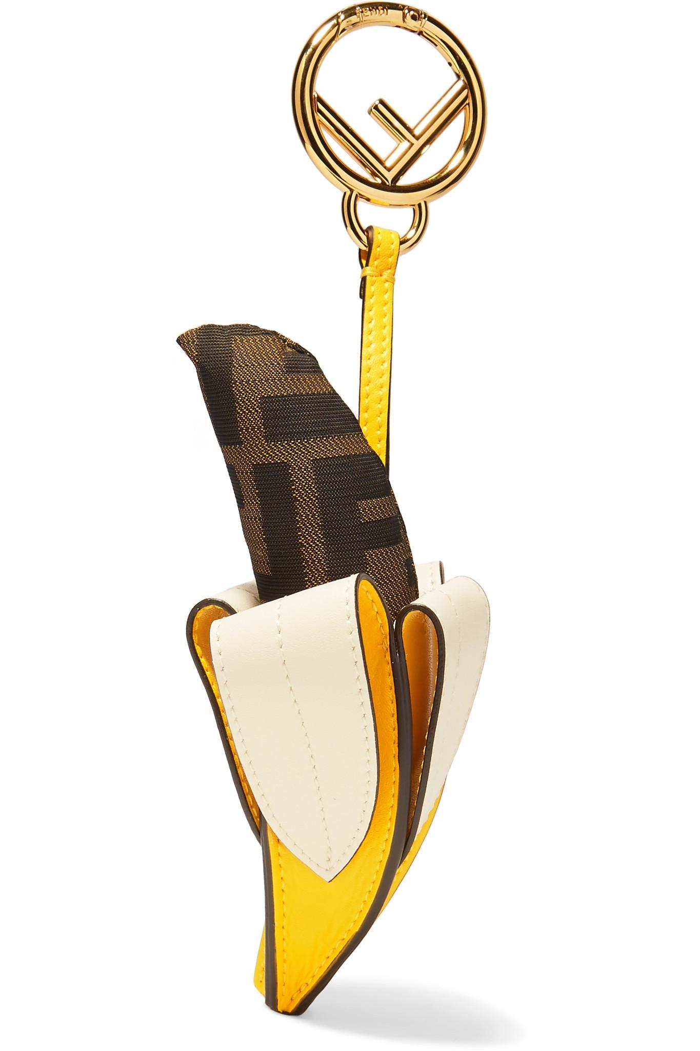 Fendi Logo-jacquard key ring SwSkMr