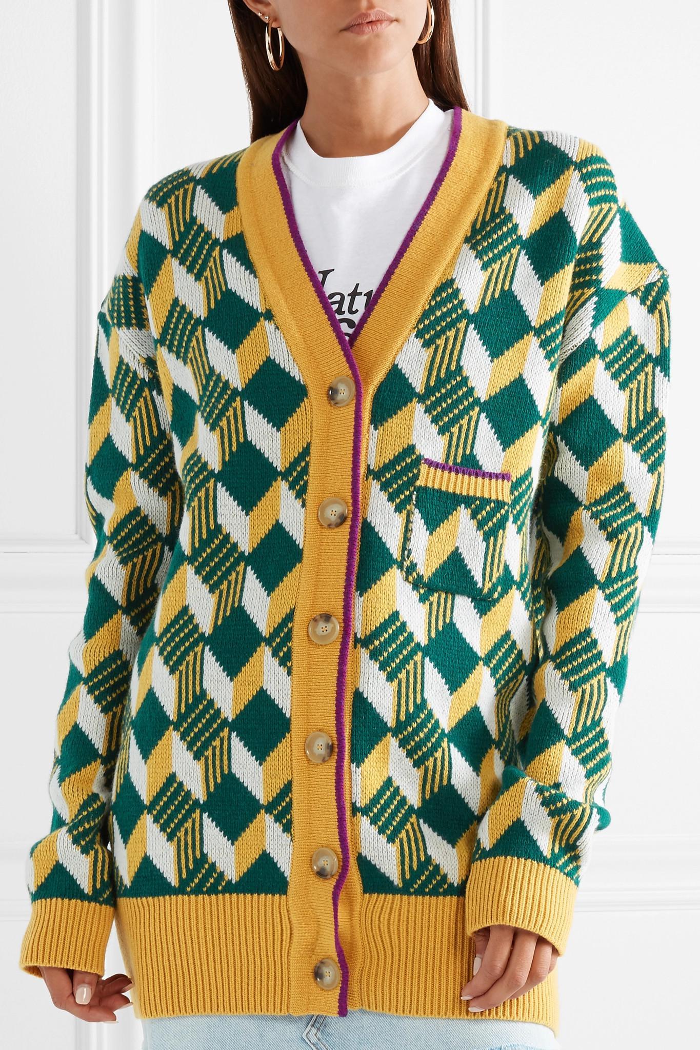 Alexa Chung Vintage Inspired Cardigan