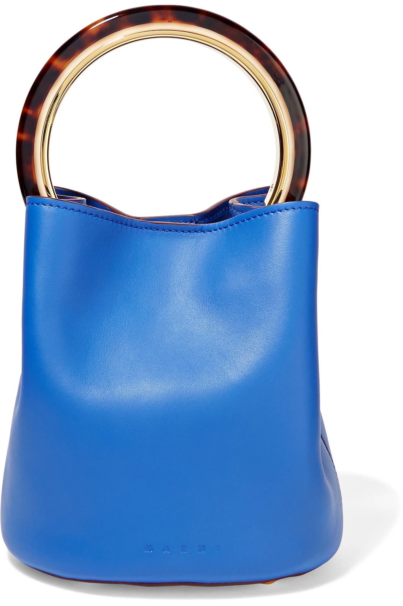 Pannier bag - Blue Marni P1fSw