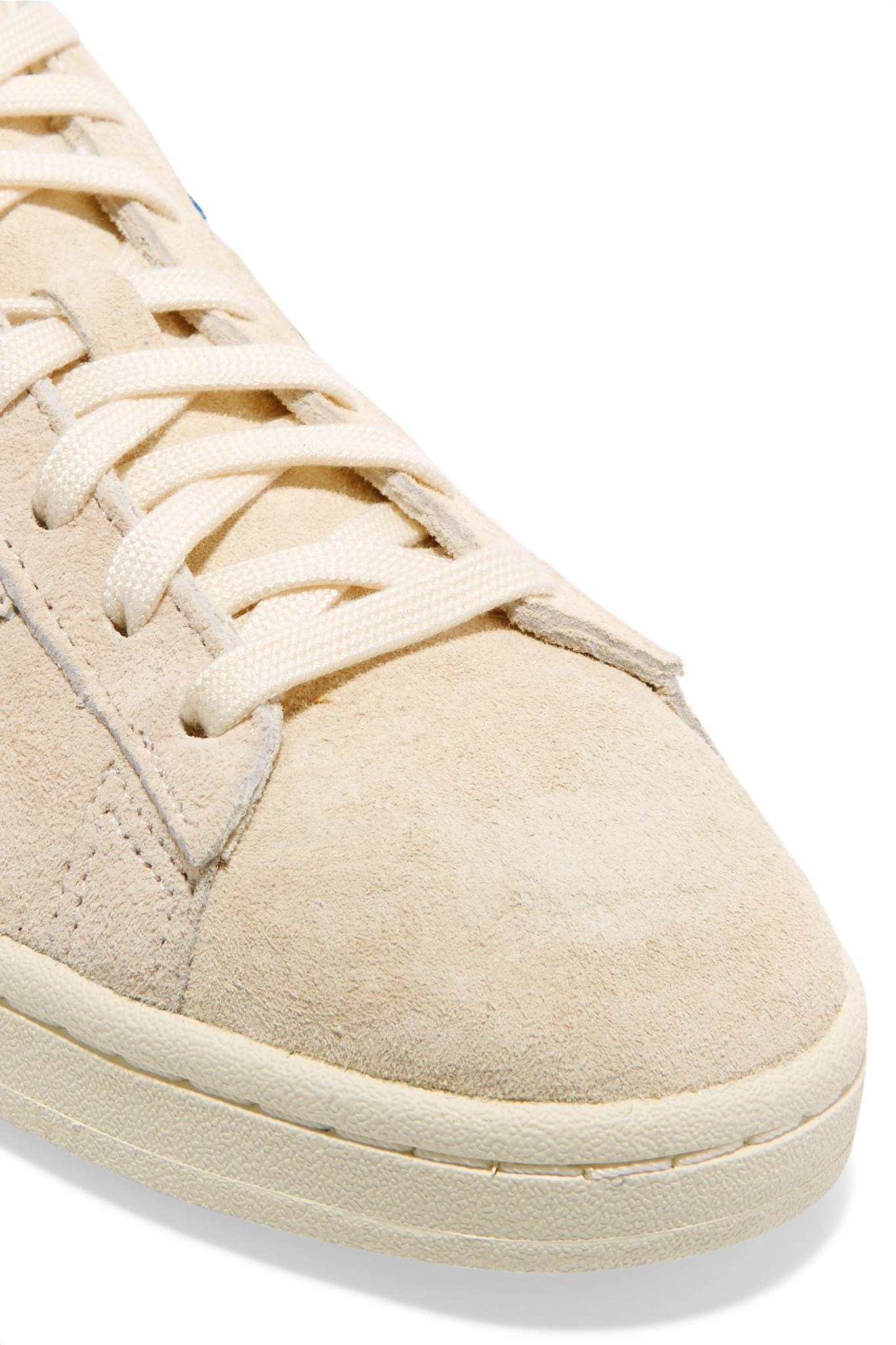 newest collection bf17a da442 Adidas Originals - Natural Campus Pride Sneakers Aus Veloursleder Mit  Besätzen Aus Canvas - Lyst. Vollbild ansehen