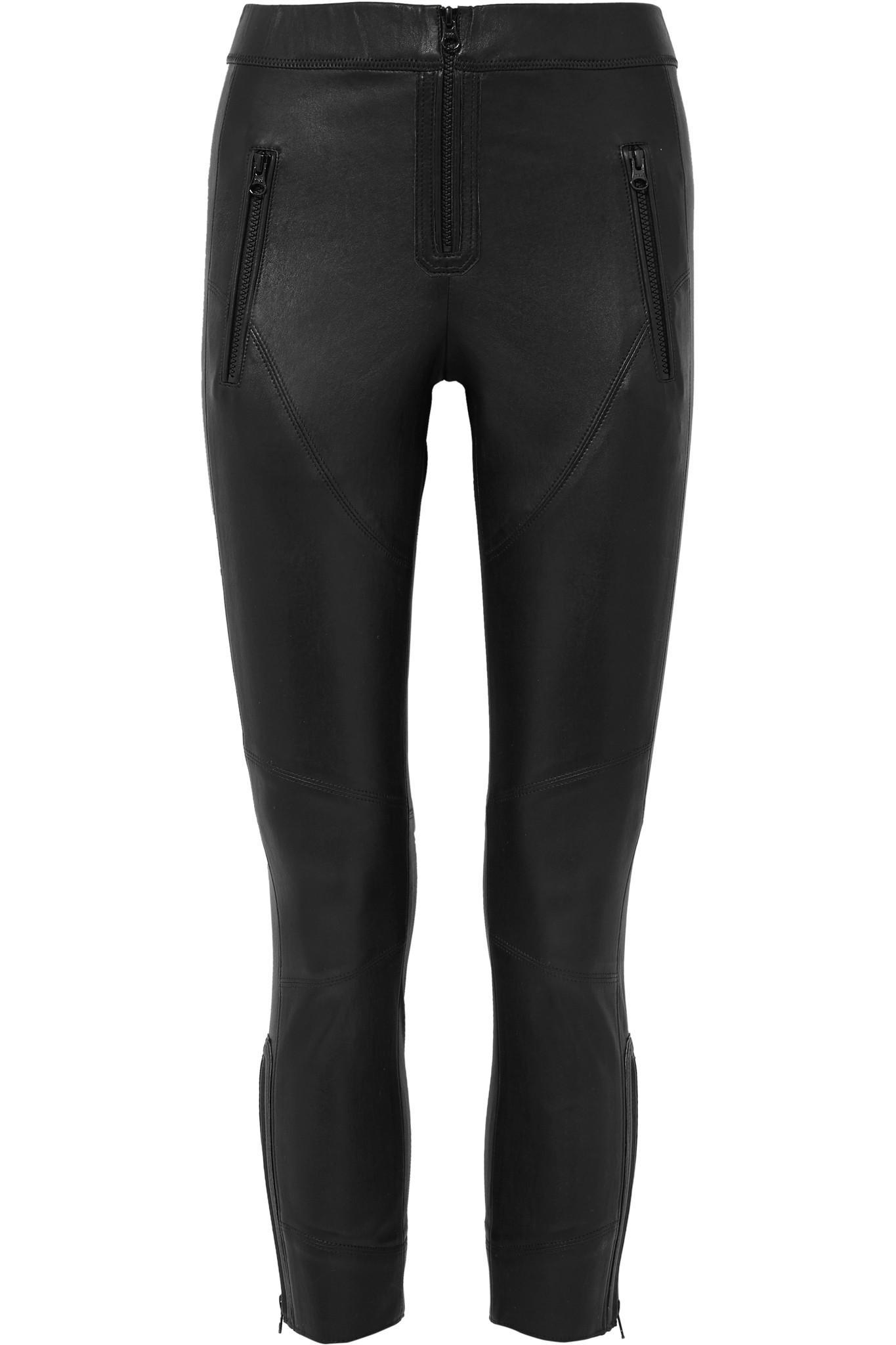 Happy Leather Skinny Pants - Black Isabel Marant mzIXdUZg