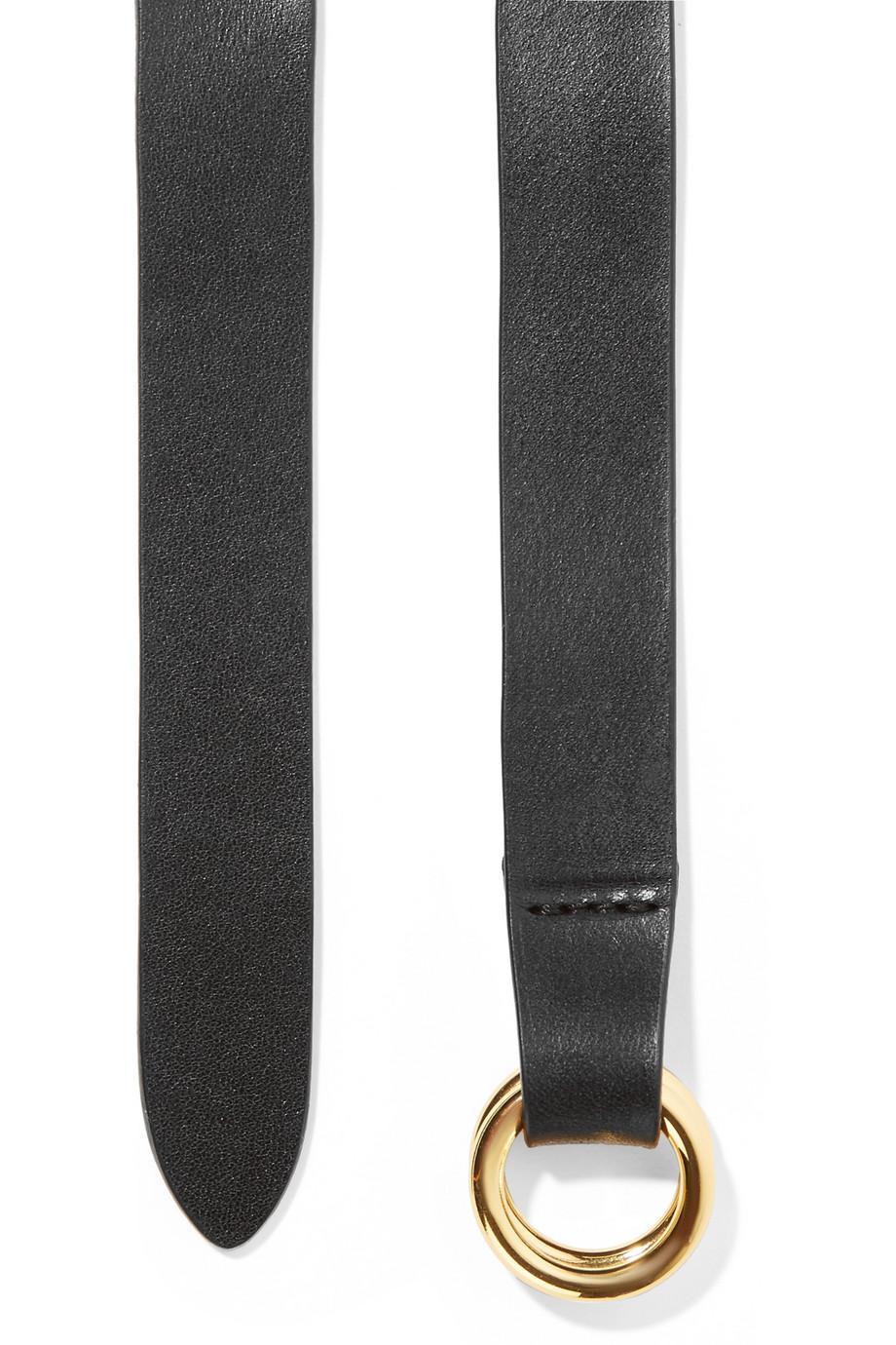 Cajou Studded Leather Waist Belt - Black Isabel Marant dLSBM