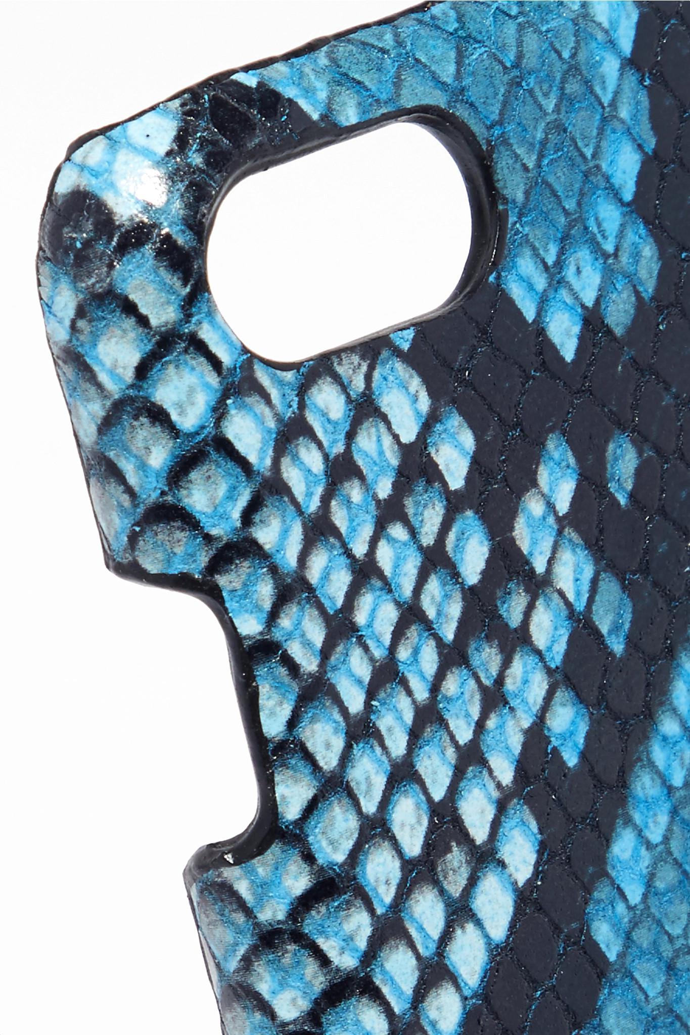 coque effet python iphone 8
