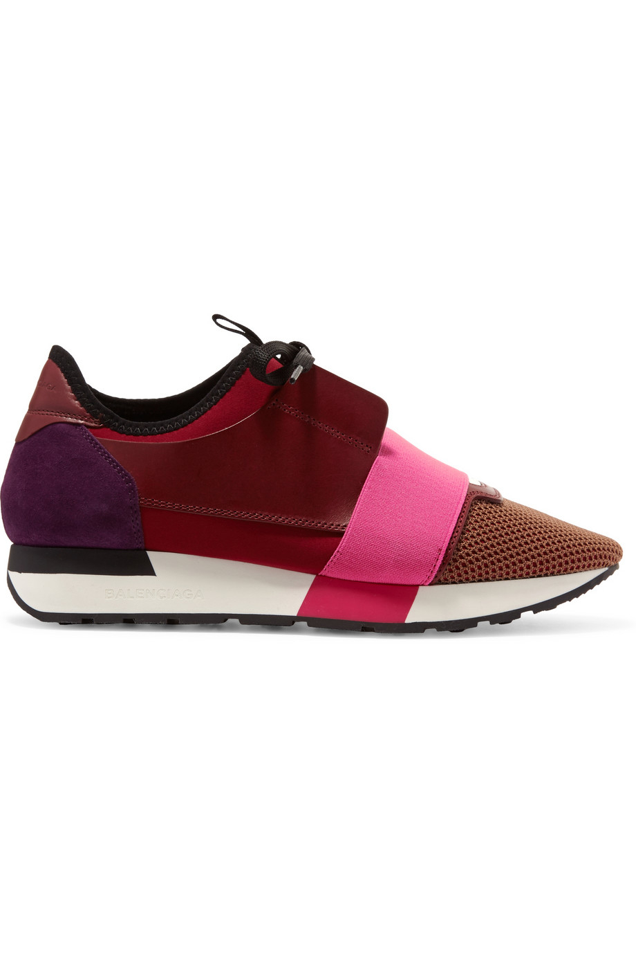 Balenciaga Race Runner Leather in Red