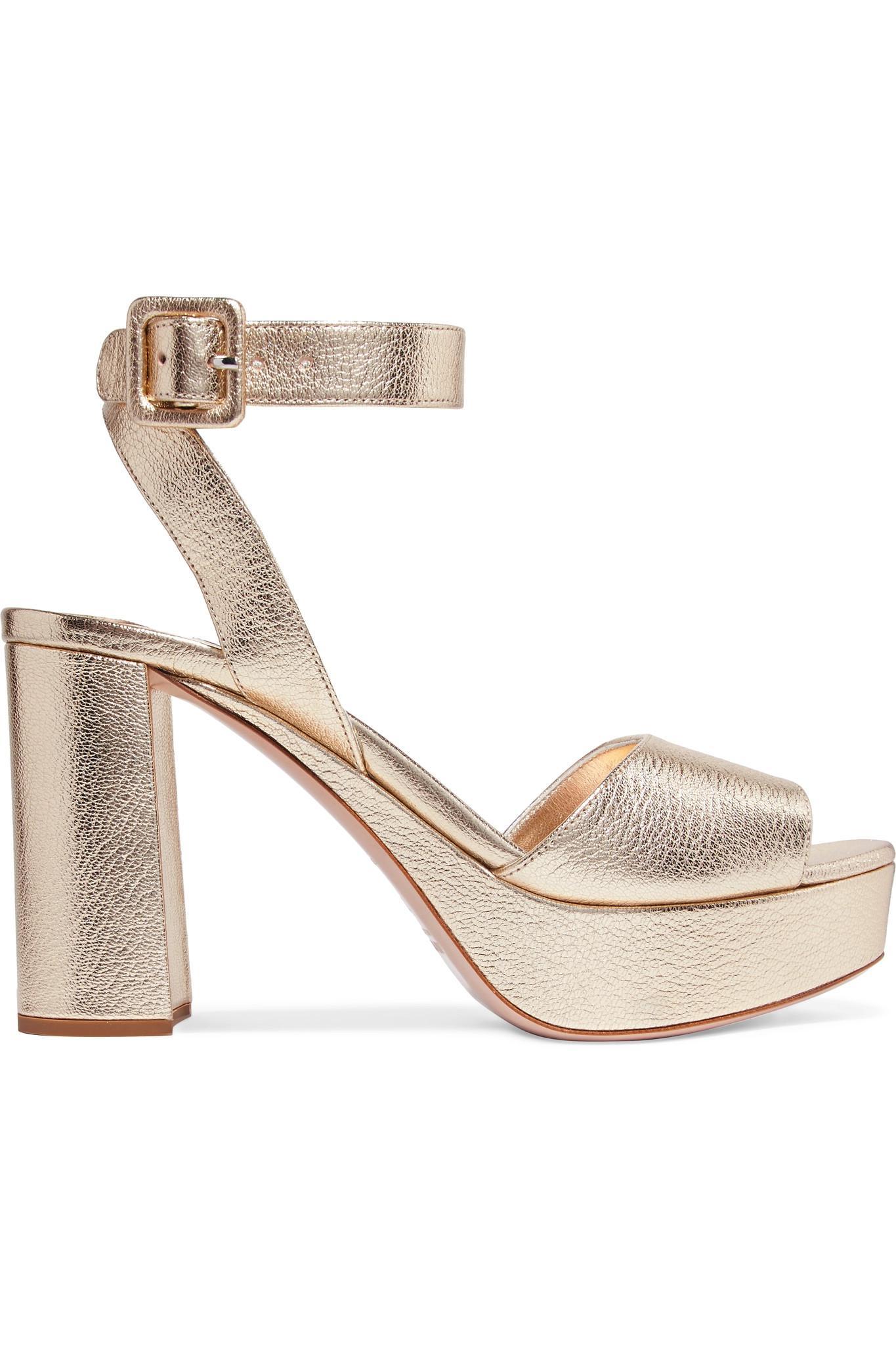 Sandales Plates-formes En Velours - ChocolatPrada w9X9sPunyV