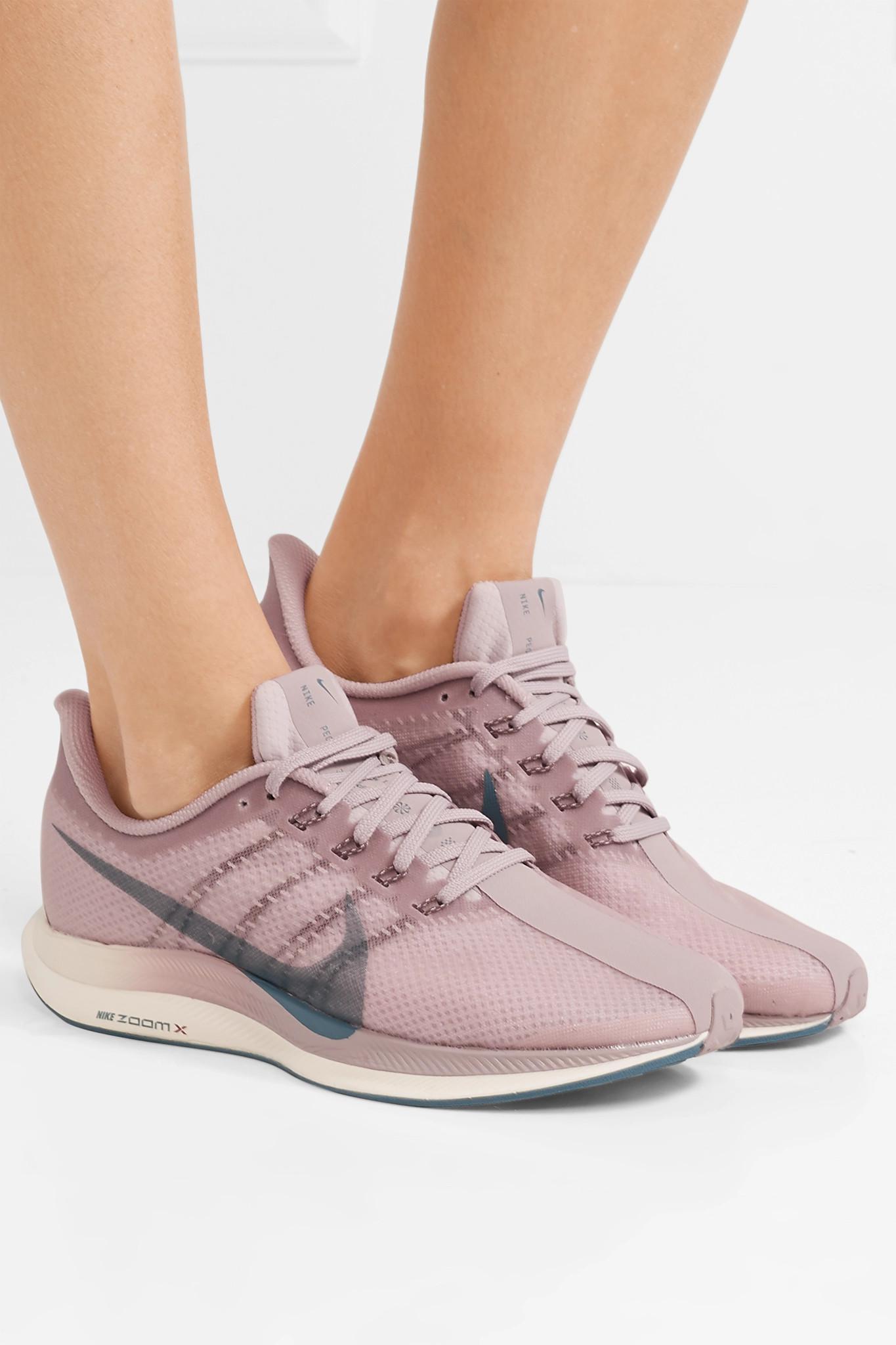 98fadb91d3c7 Nike - Purple Zoom Pegasus 35 Turbo Mesh Sneakers - Lyst. View fullscreen