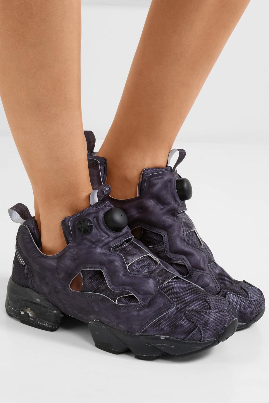 d5957fdce697 Lyst - Vetements Reebok Instapump Fury Og Neoprene And Mesh Sneakers ...