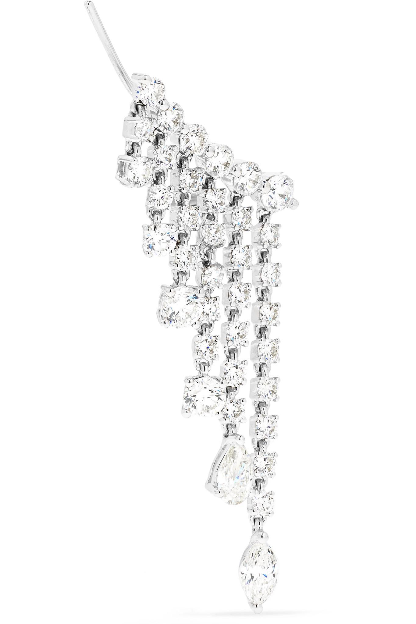 a287b310313d1 Anita Ko Diamond White Gold Rain Drop Earrings dropdiamondearrings