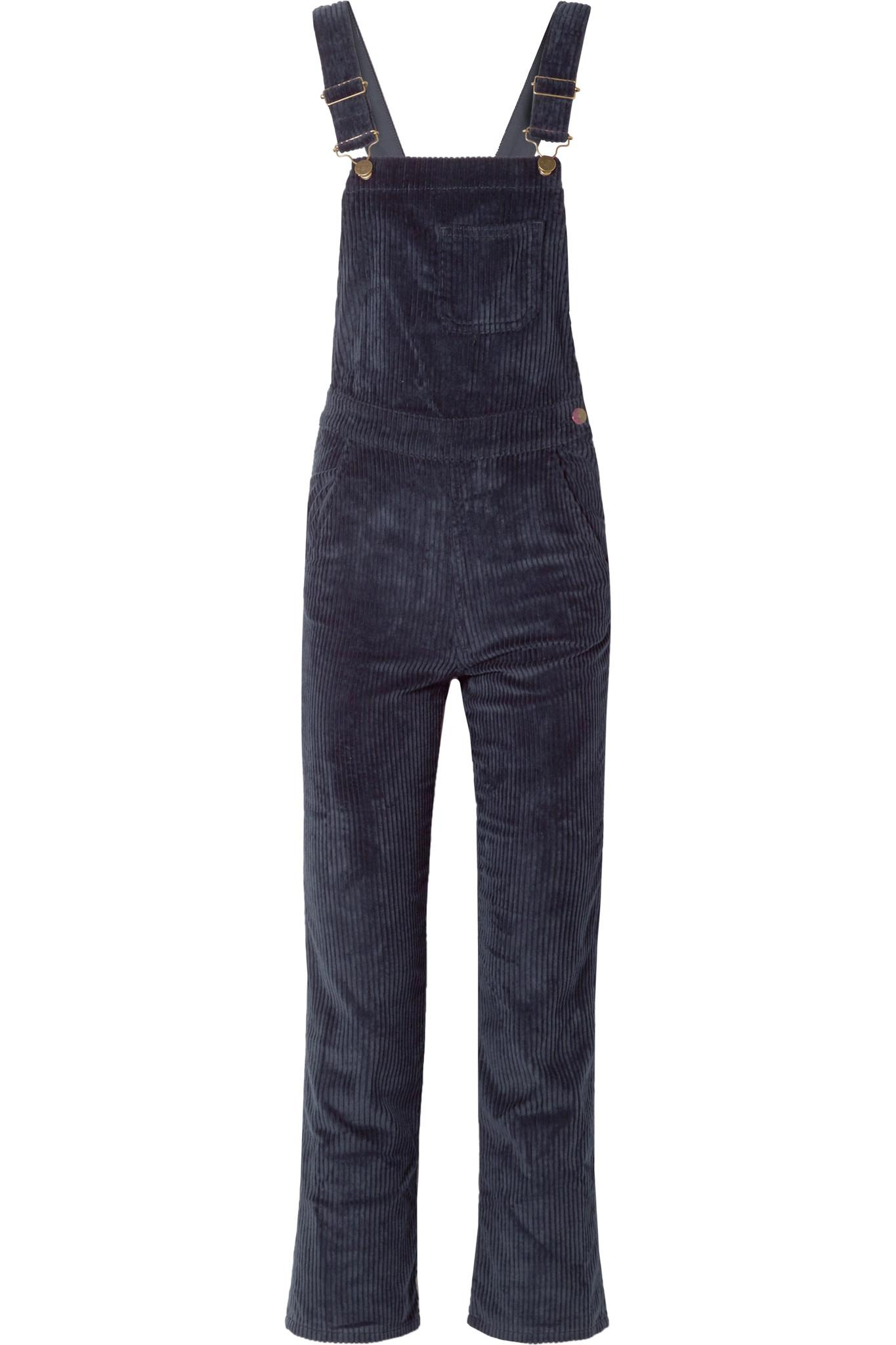 6c02f4ac557 Mih Jeans Korine Cotton-blend Corduroy Overalls in Blue - Lyst