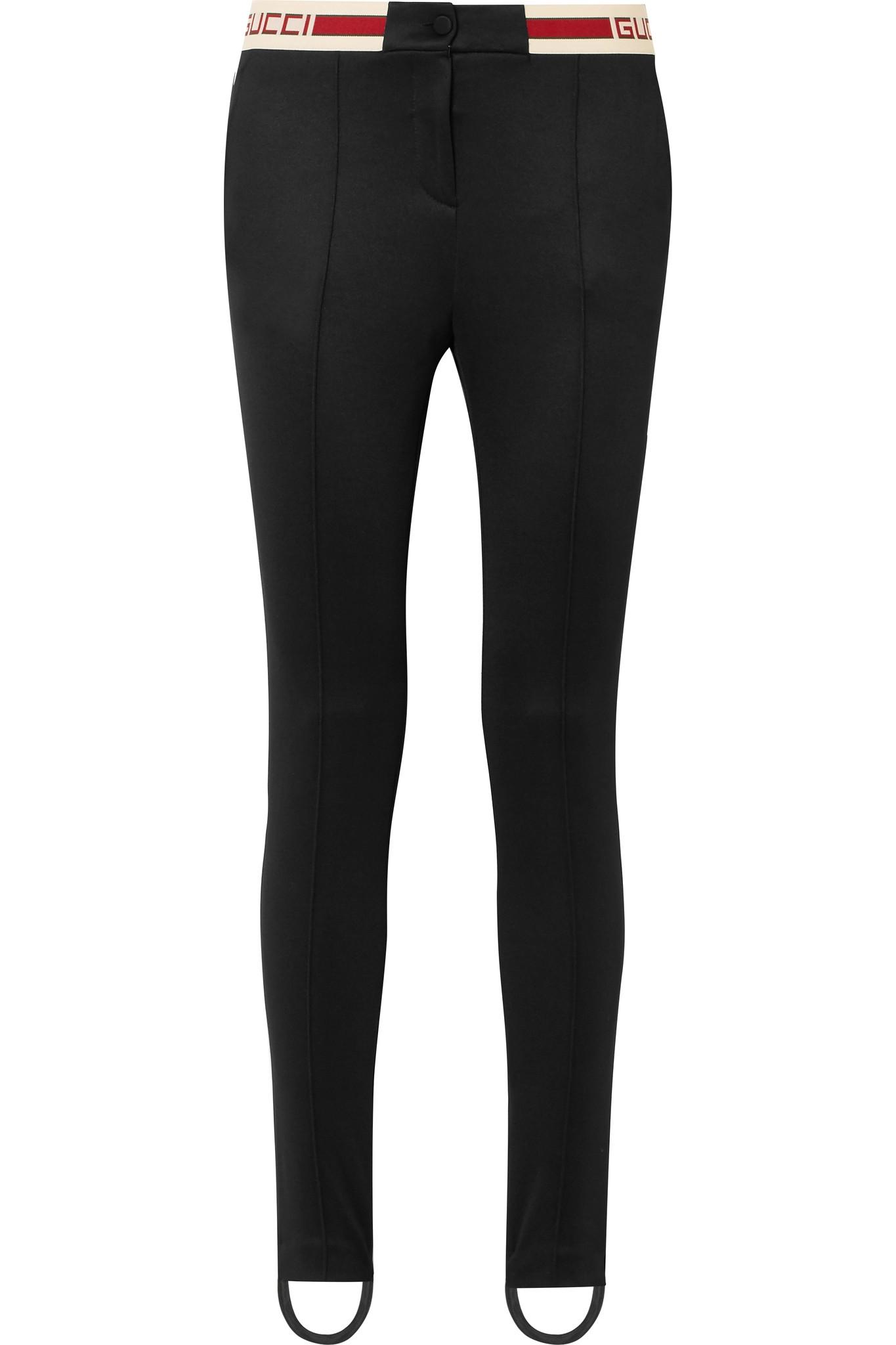 Leggings En Jersey Rayé Gucci pJWZMX1we3