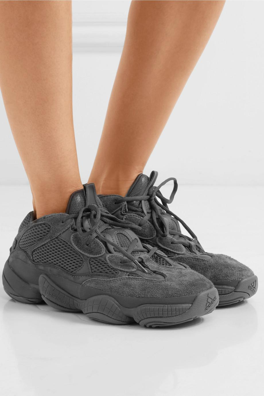 ec5ccb684 Lyst - adidas Originals Kanye West Yeezy 500 Desert Rat Suede And ...