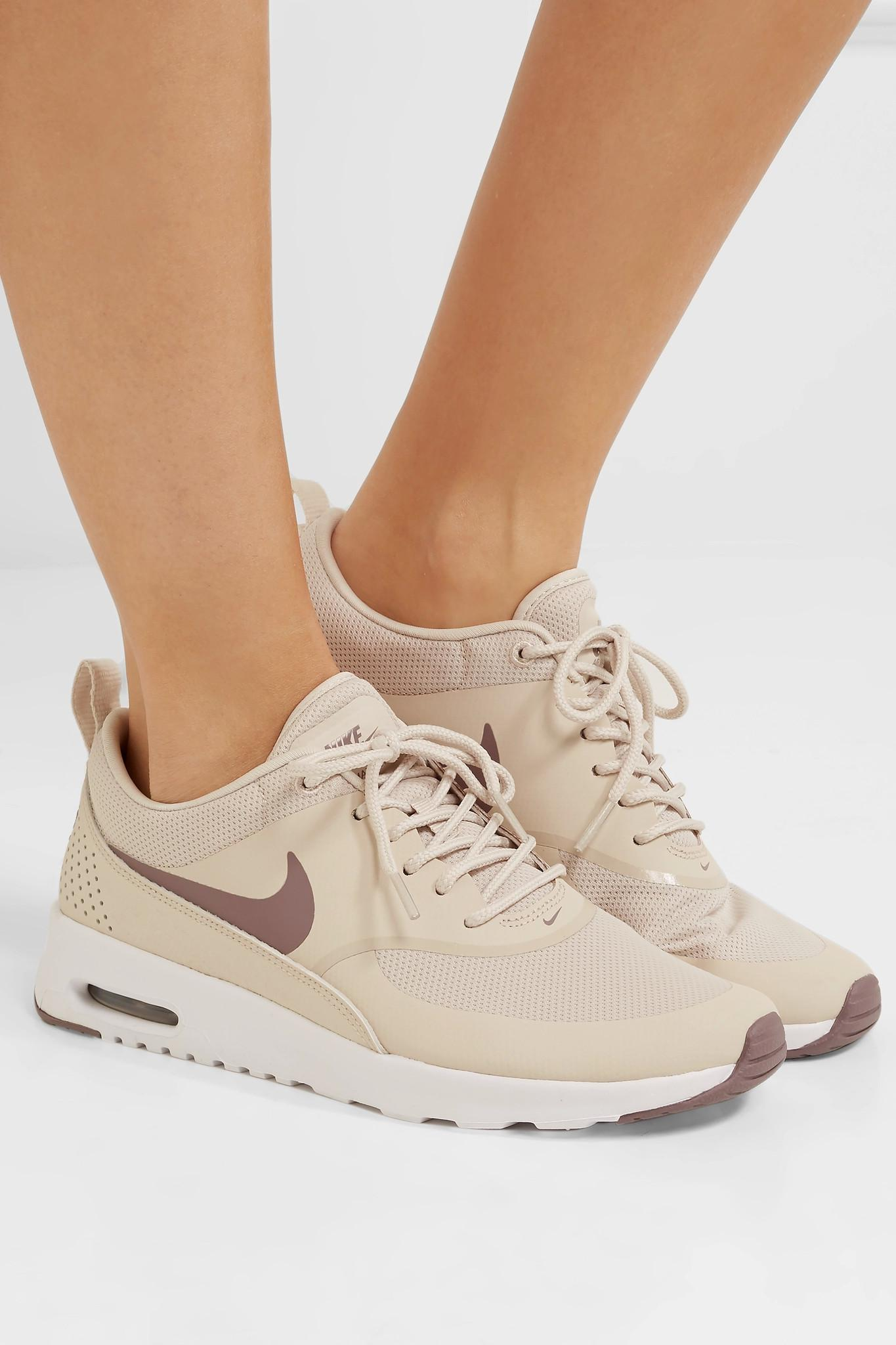 f6f3ecdb50 ... sneakers Lyst - Nike Air Max Thea Rubber, Stretch-mesh And Croc-effec  ...