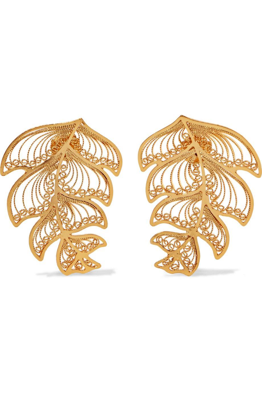 Mallarino Erika Gold Vermeil Earrings JWCO2UhC