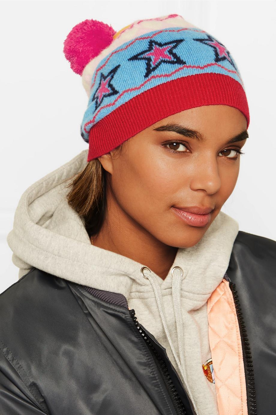 Ski Tuque En Laine Jacquard Partie - Chinti Rose Et Parker W39lSHywaw