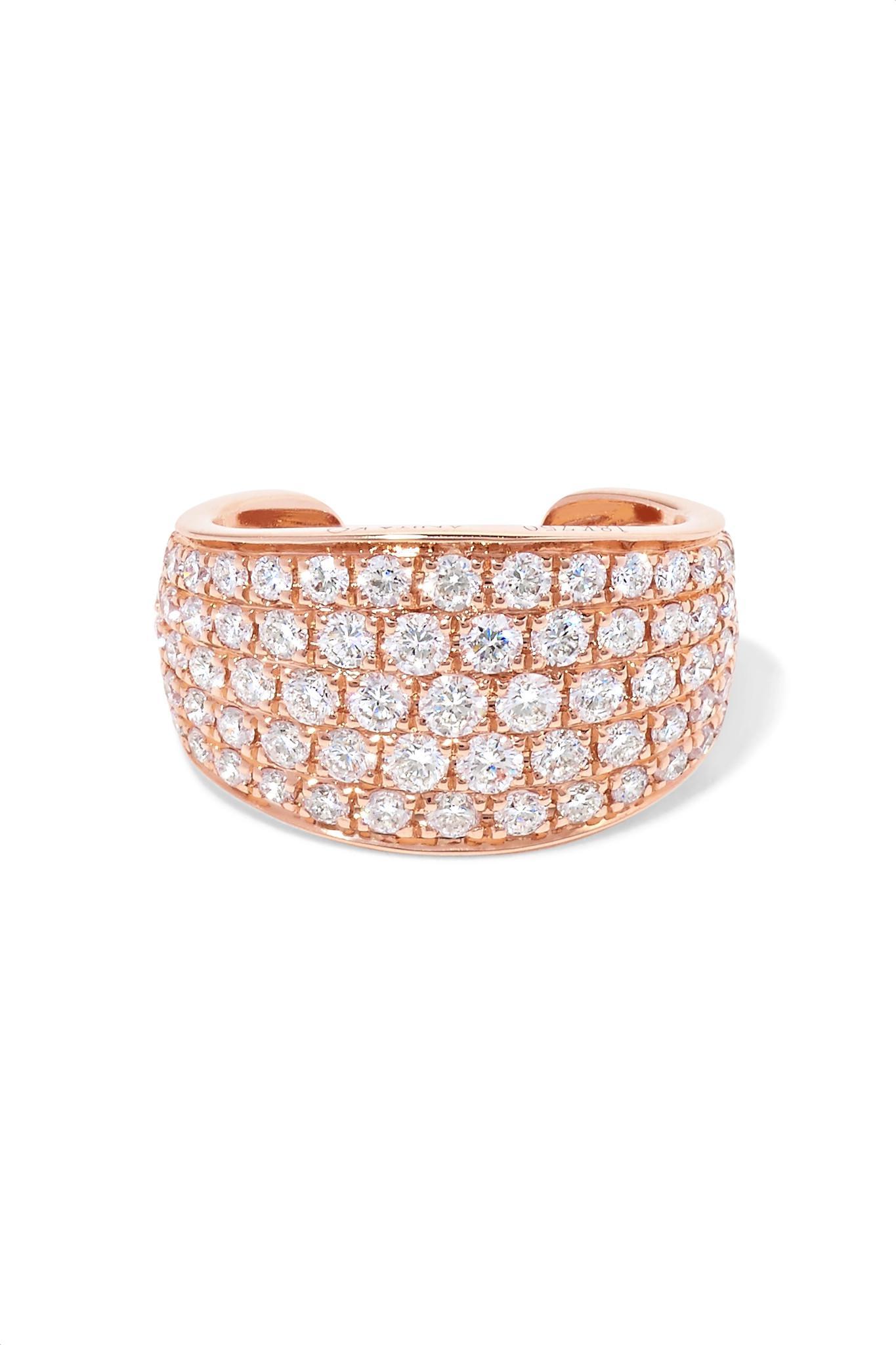 Anita Ko Galaxy 18-karat Rose Gold Diamond Ring eAq2VeQ5pm