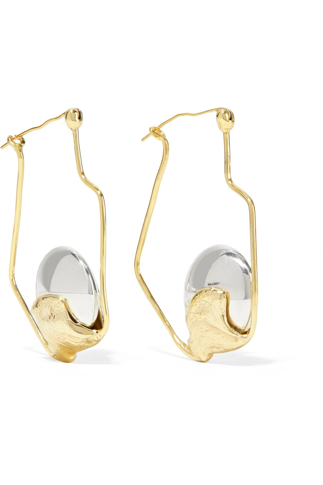 Ellery Cusp Oyster gold-plated earrings o2i2AG