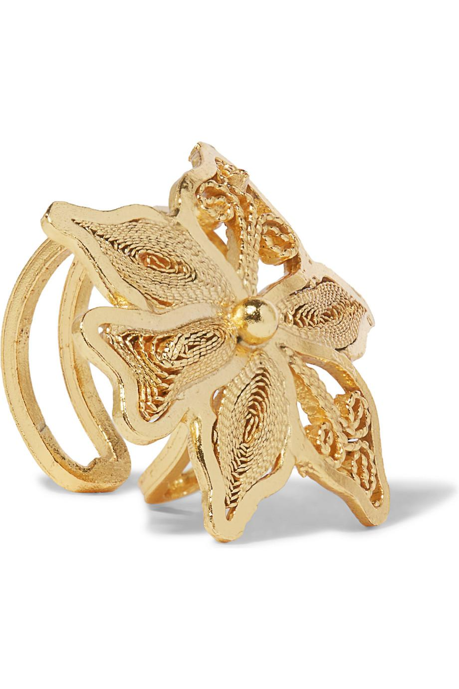 Mallarino Oriana Set Of Three Gold Vermeil Ear Cuffs And Earring 8CN4x4Rv