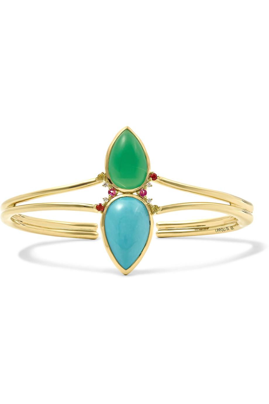 Prisma 18-karat Gold Multi-stone Ring - 6 Ippolita vJhhELM5y