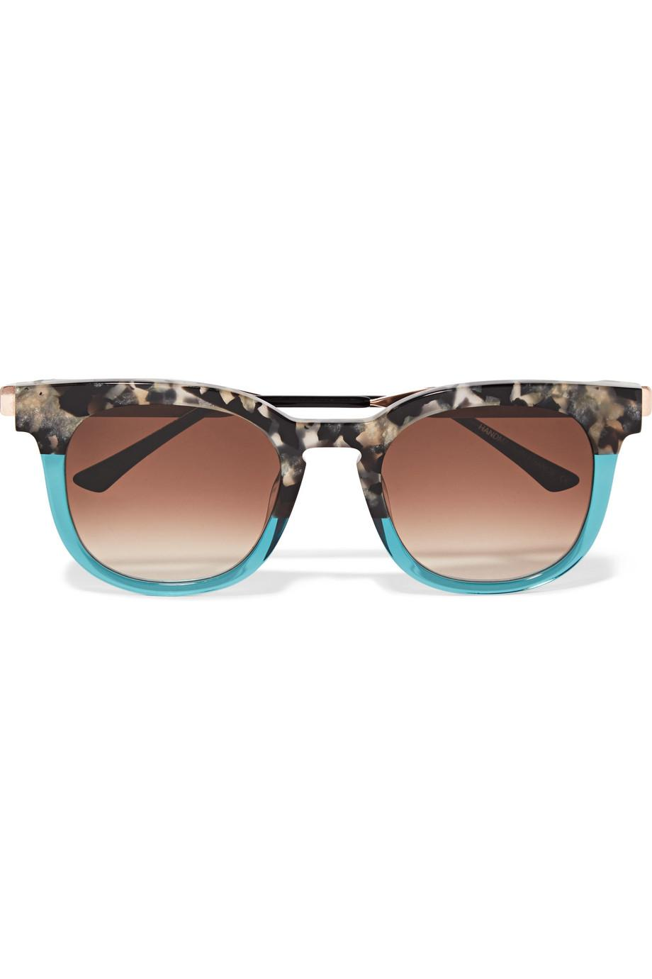 Cat-eye Two-tone Acetate And Gold-tone Sunglasses - Tortoiseshell Thierry Lasry sFT3Z