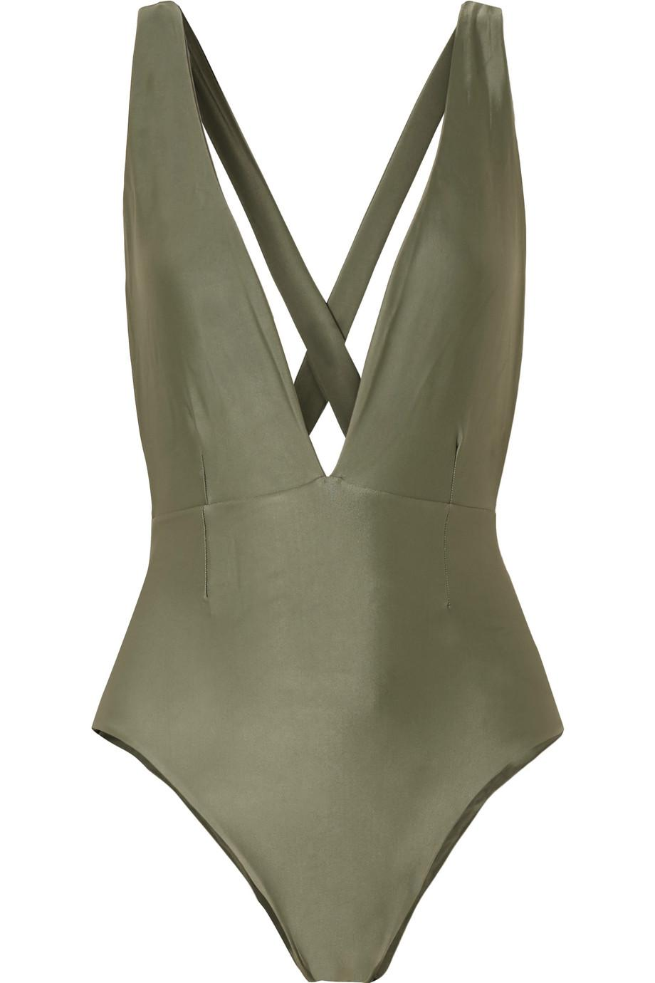Cheap Price Store Marina Swimsuit - Army green Haight Official Online Buy Cheap Clearance Store ujnh0z7yY