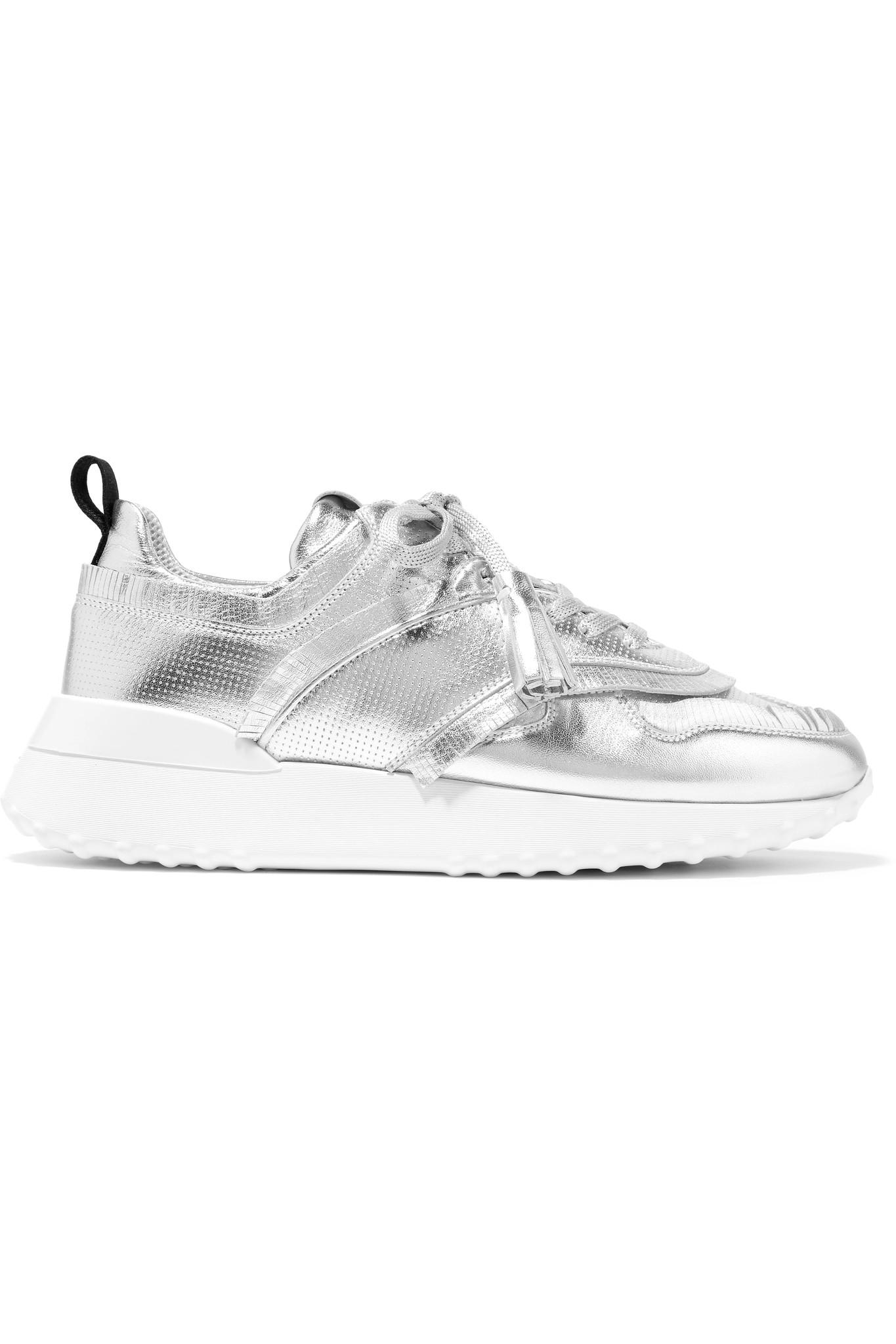Printed Leather Sneakers Tod's KfQK7f