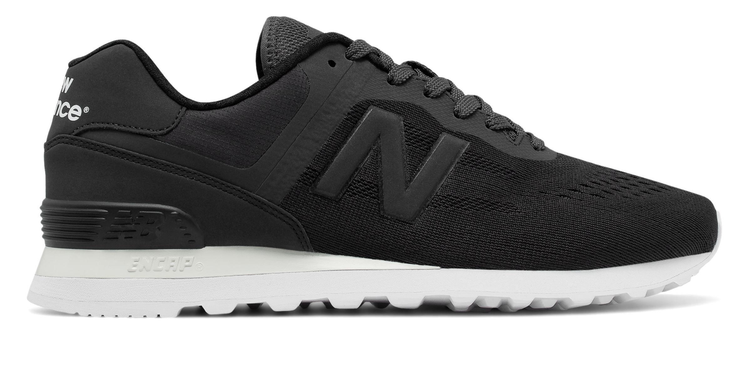New Balance 574 Re-Engineered Black/Charcoal