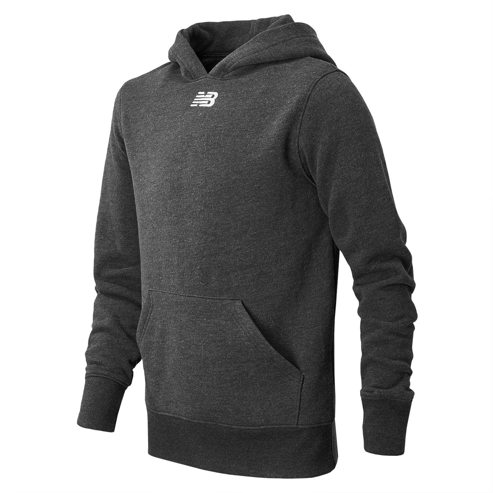 new balance classic full zip hoodie in black for men lyst. Black Bedroom Furniture Sets. Home Design Ideas