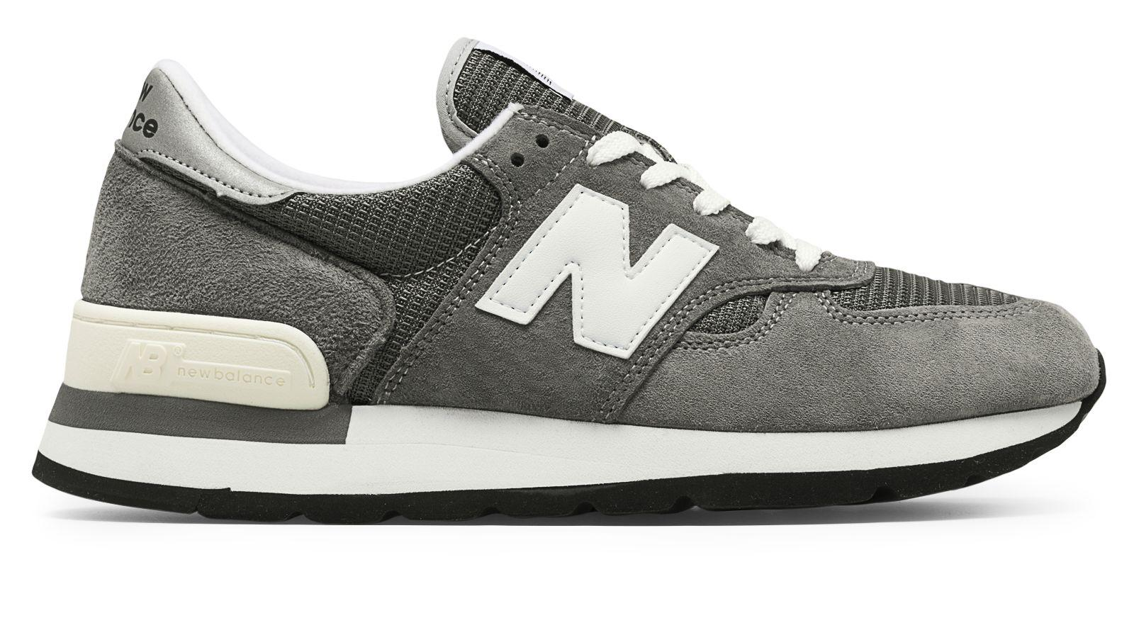 New Balance. Men's Gray 990 Made In The Usa Bringback