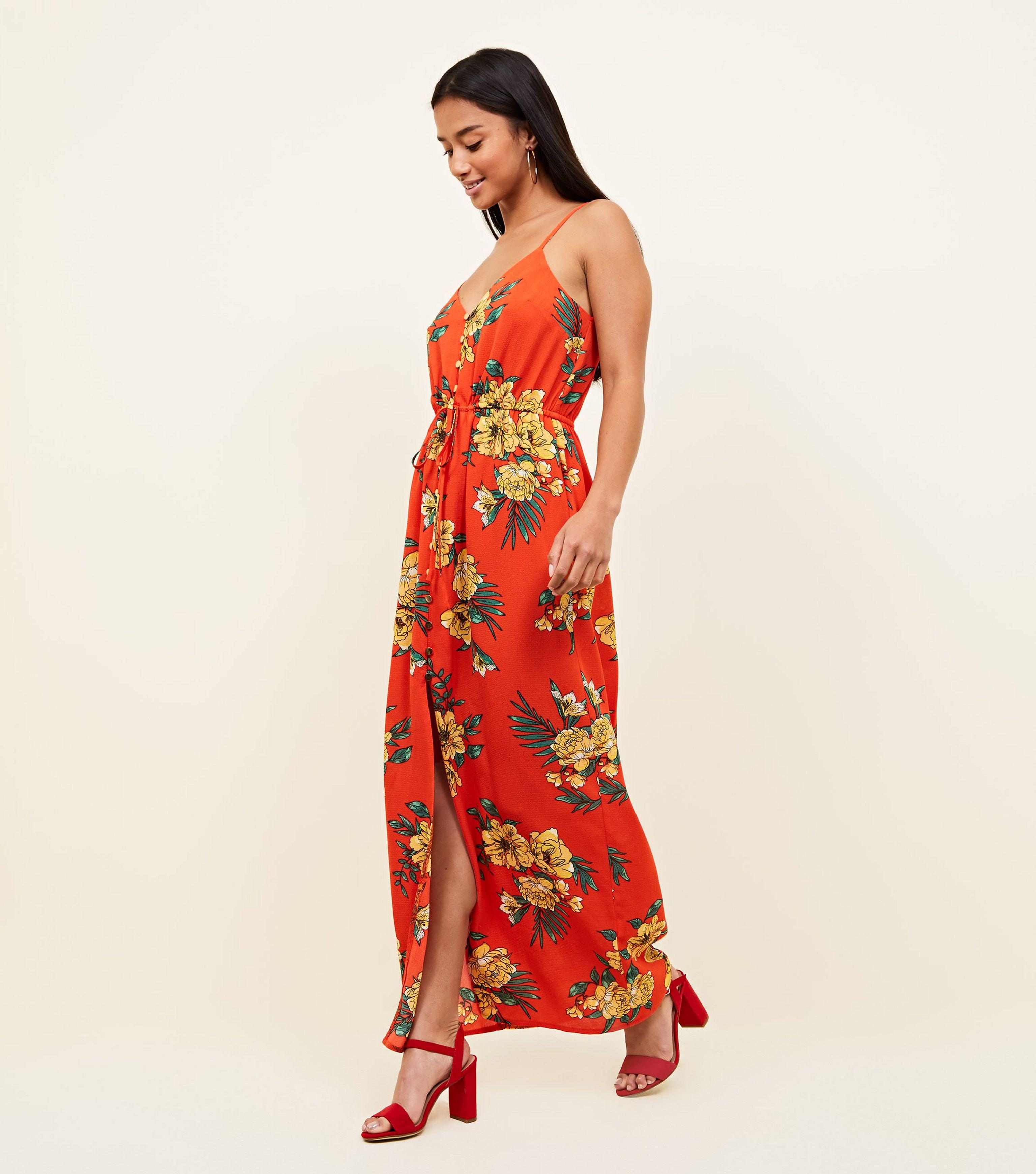 clearance cheap maxi floral dresses for petite ladies ...