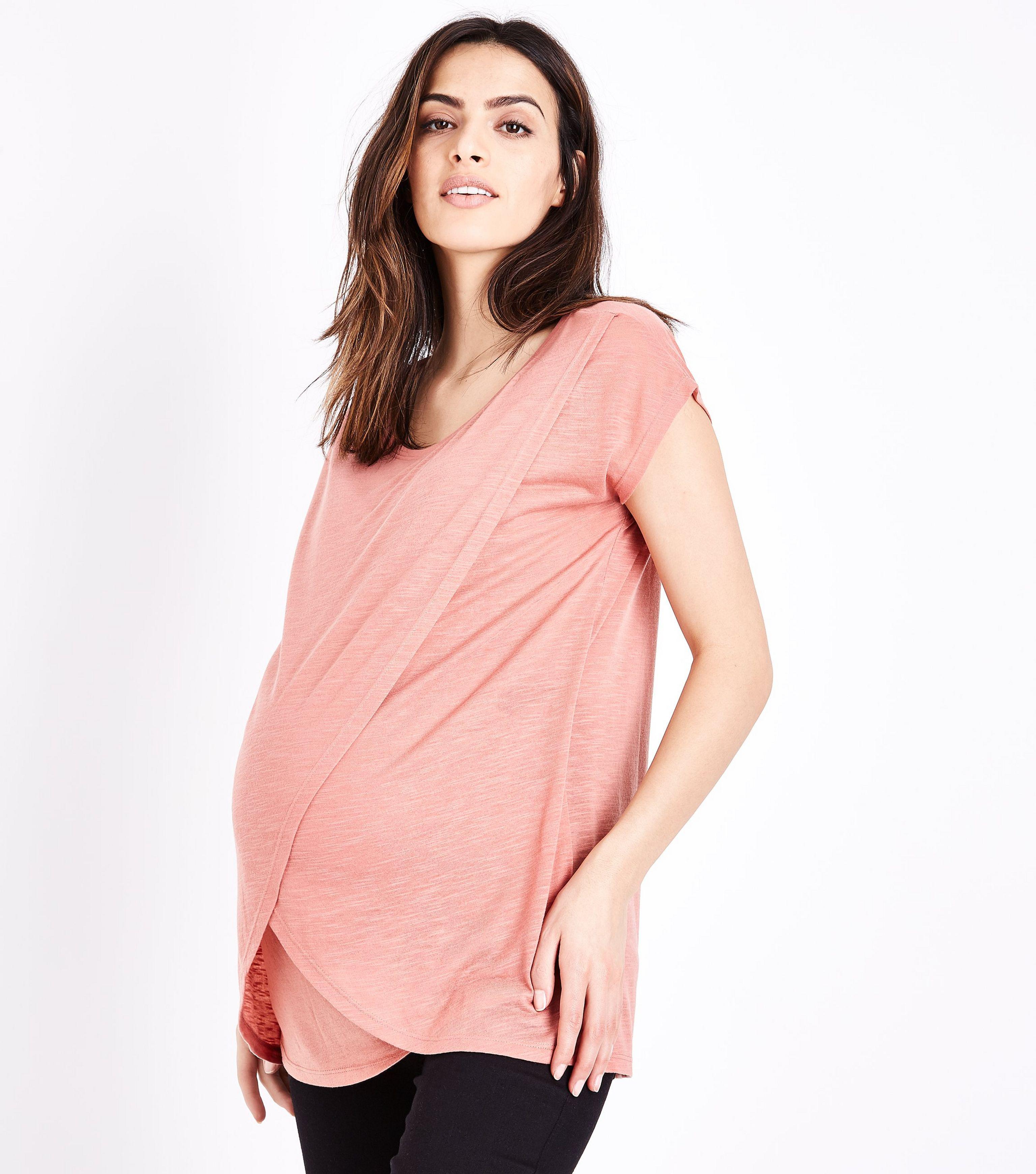 Women Wrap T-Shirt New Look 2018 Online AGN60xz