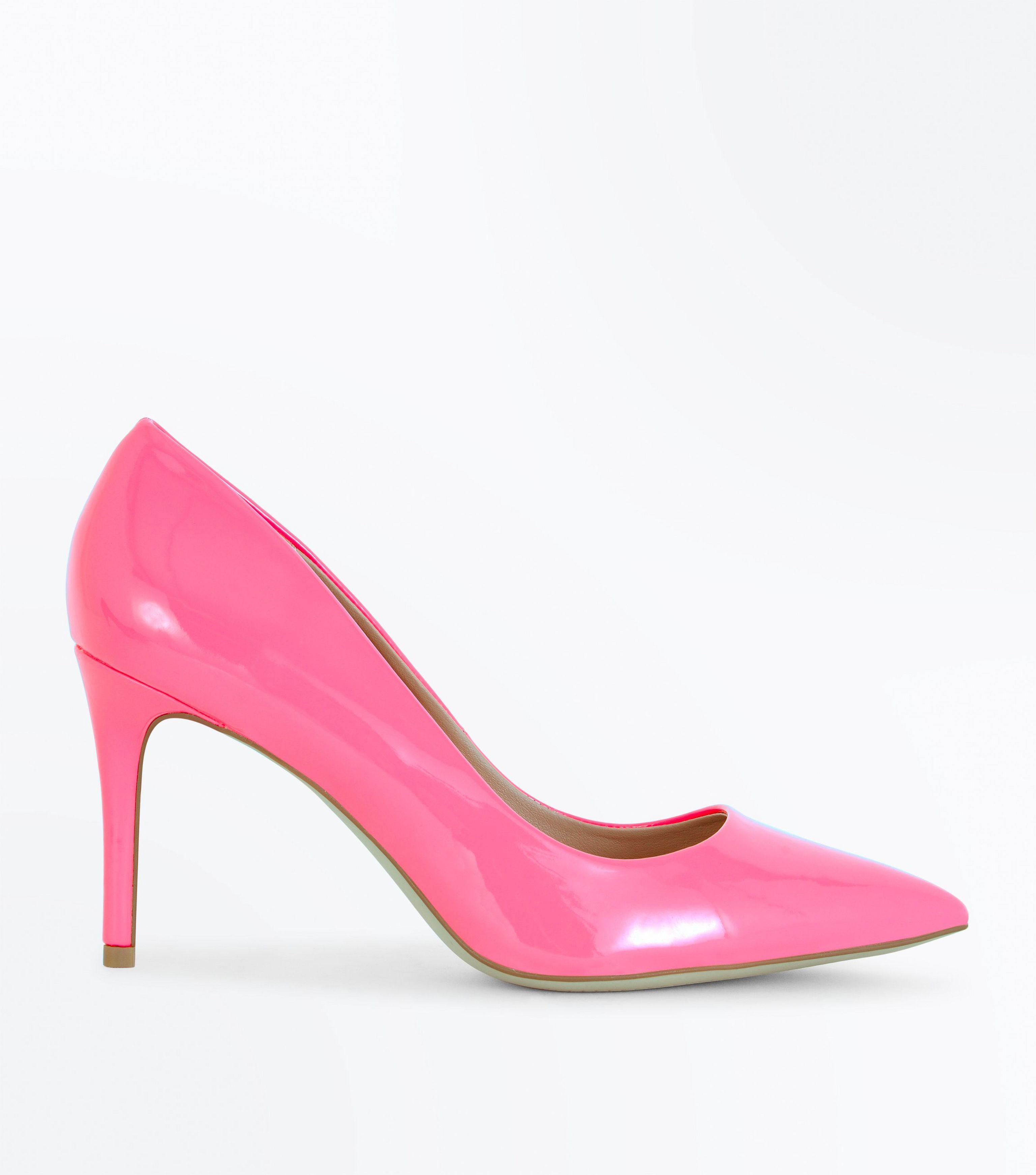 Nouveau Brevet Look A Chaussure Haute Cour - Rose q0rSznn2C
