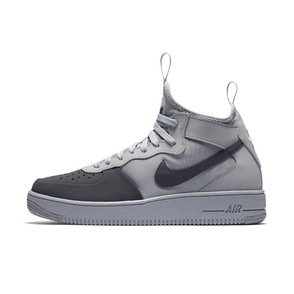 df804923ff134 Lyst - Nike Air Force 1 Ultraforce Mid Tech Men s Shoe in Gray for Men