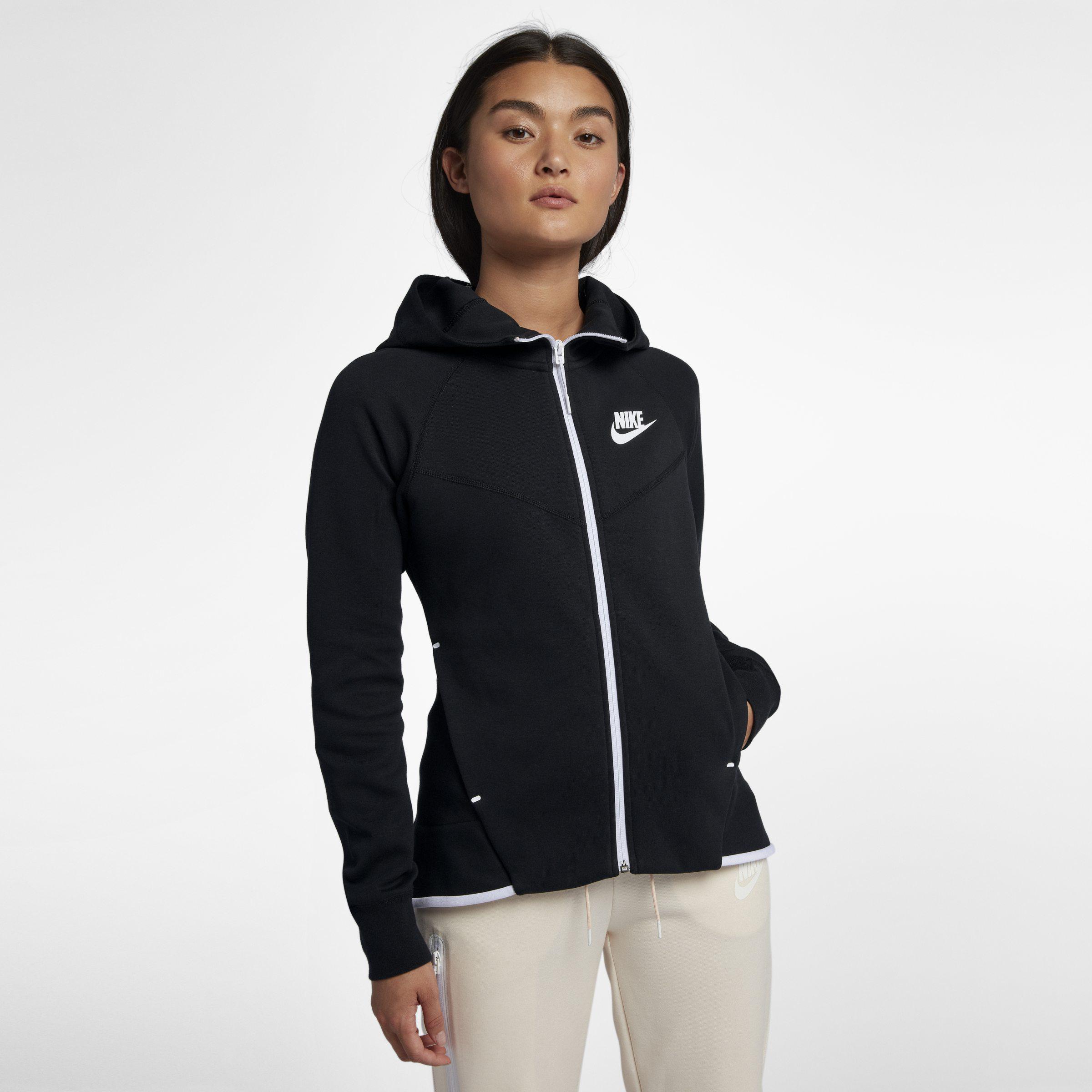 915fe3198983e Nike - Black Fleece Hoodie - Lyst. View fullscreen