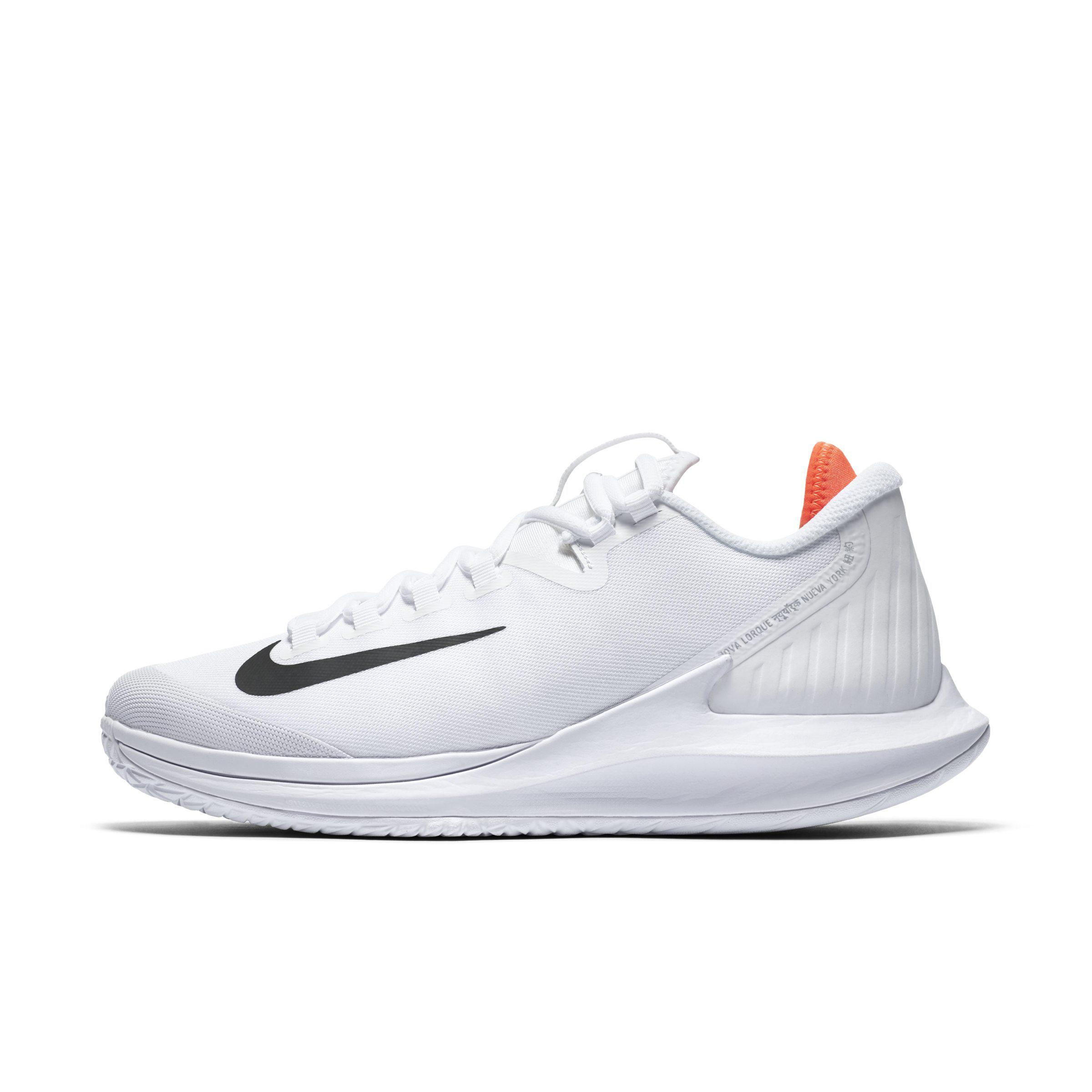 81a1dc3d49 Nike Court Air Zoom Zero Hard Court Tennis Shoe in White - Lyst
