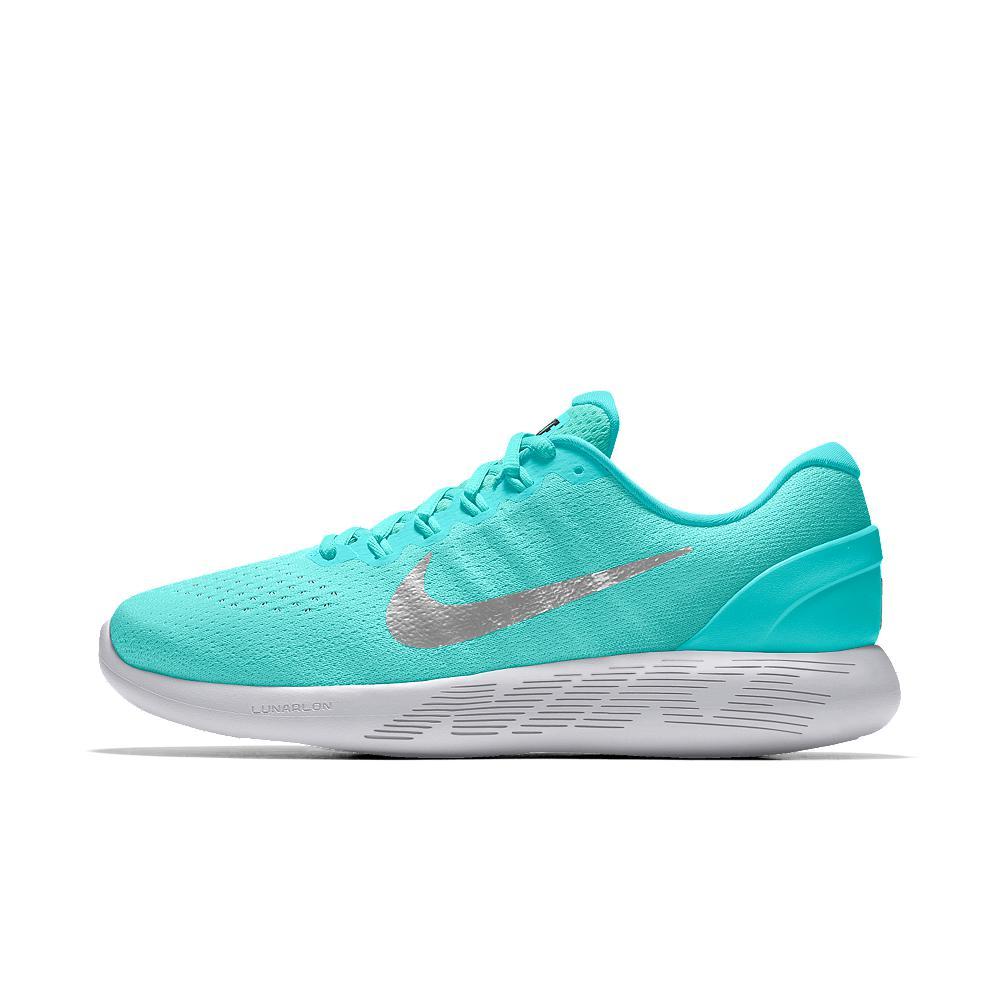 66407891fce2 Lyst - Nike Lunarglide 9 Id Women s Running Shoe in Blue
