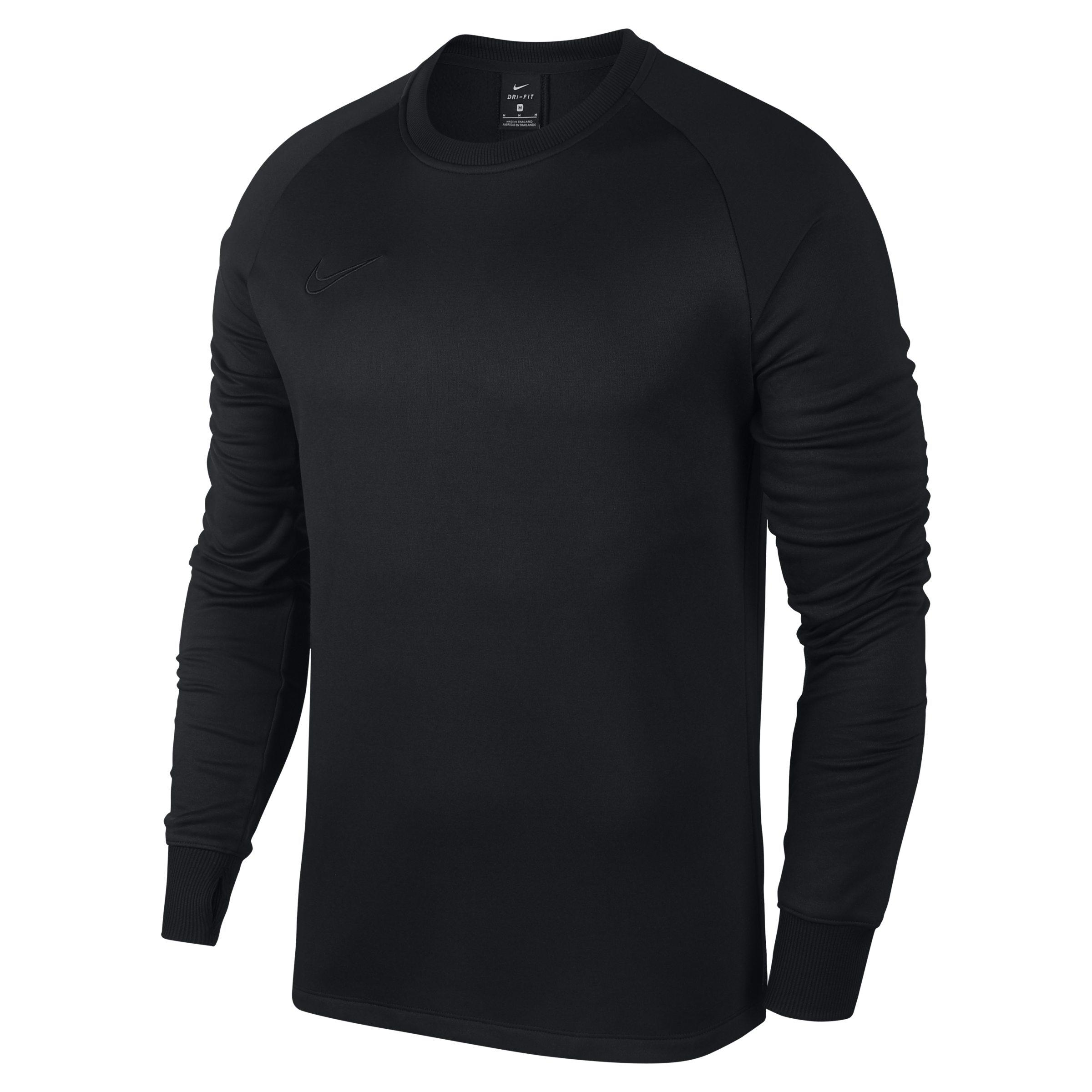 3820a8127 Nike Therma Academy Long-sleeve Football Top in Black for Men - Lyst