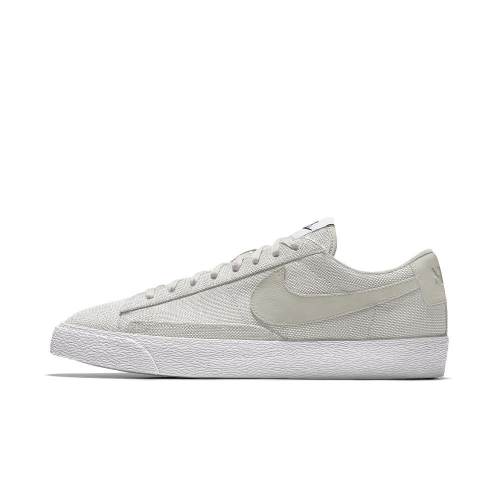 cheap for discount dada4 08f9e Lyst - Nike Blazer Low Premium Id Men s Shoe in White for Men nike blazer  low