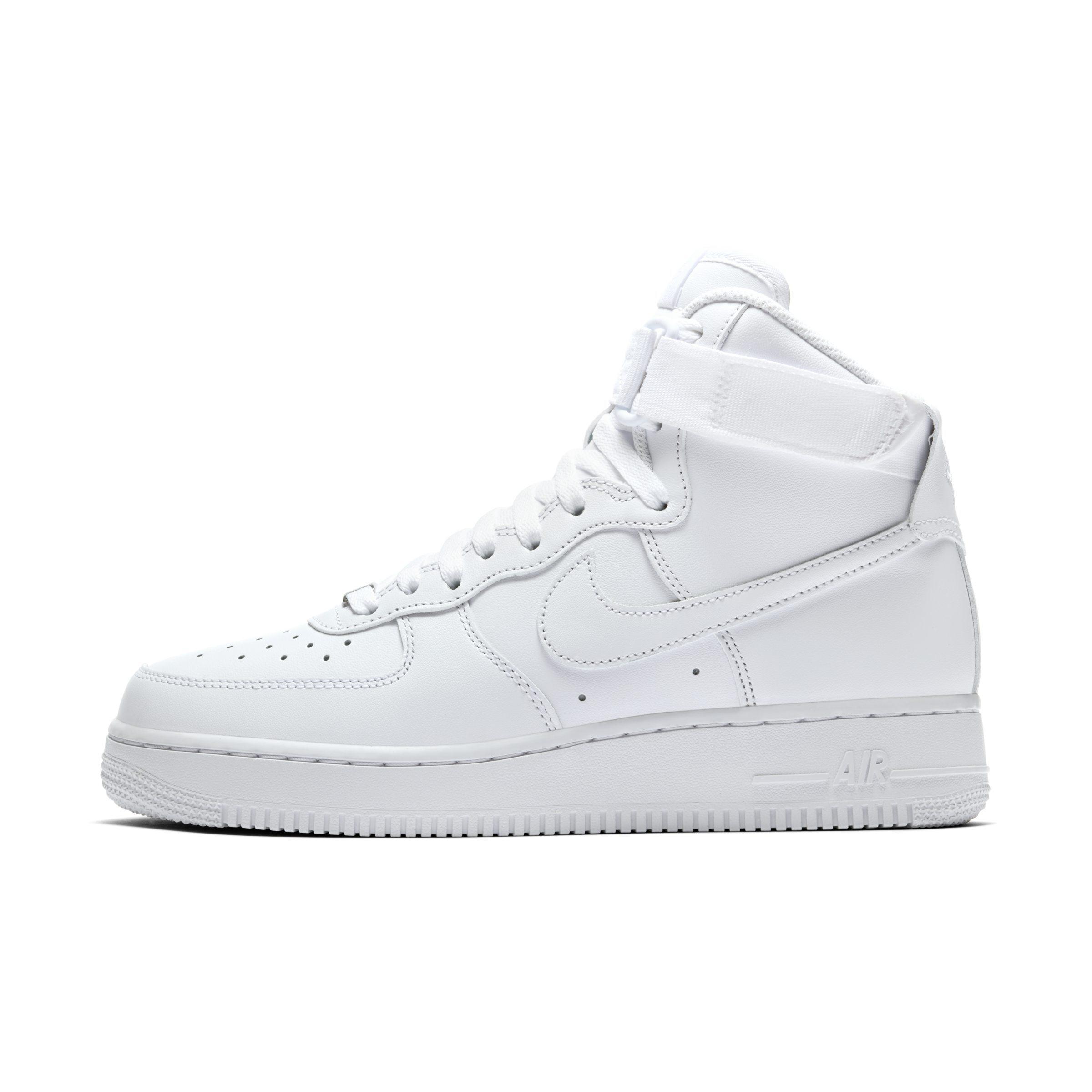 cheap for discount 742f6 e7805 Nike. Women s White Air Force 1 High 08 Le Shoe