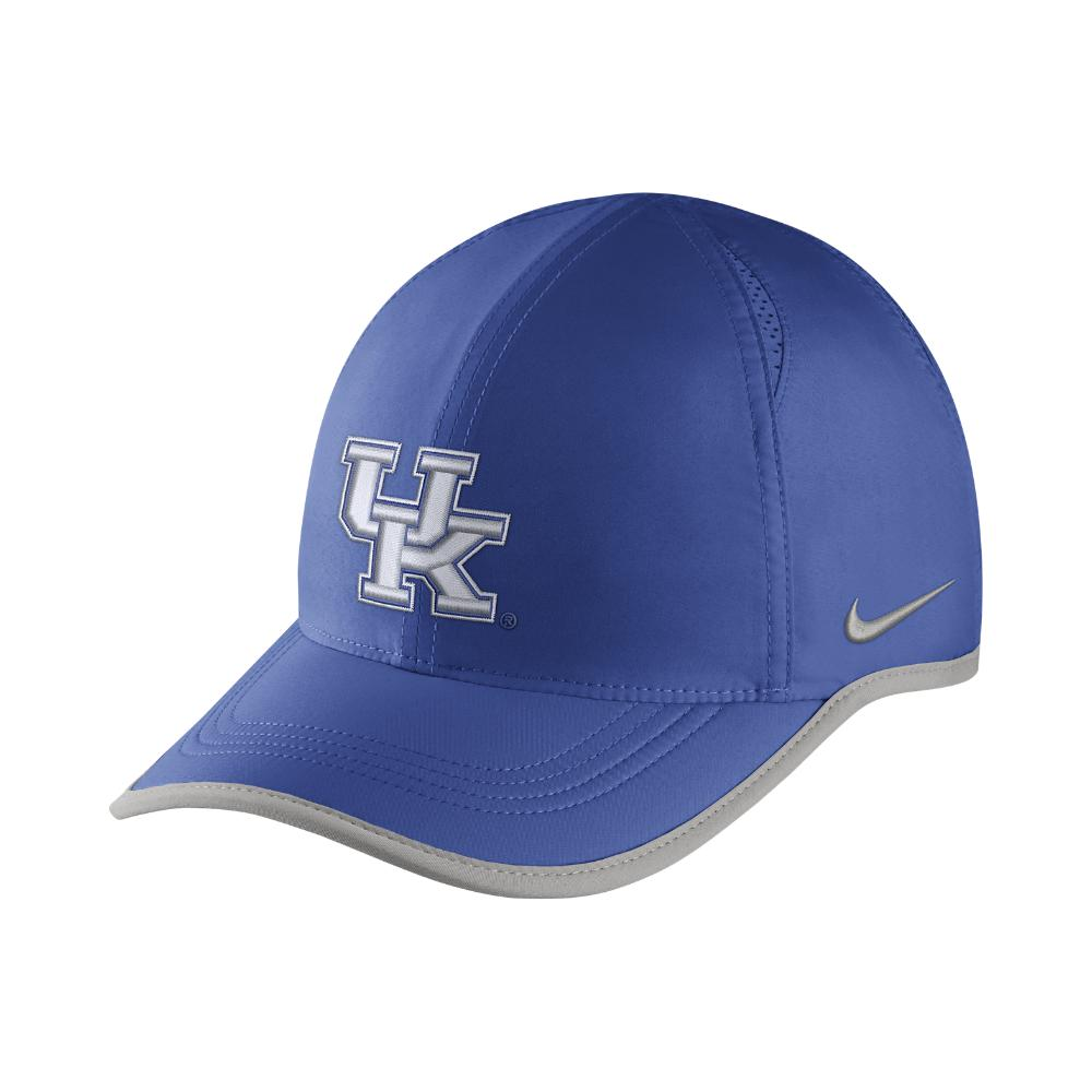 fbd224211a1 Nike. Men s College Aerobill Featherlight (kentucky) Adjustable Hat (blue)  - Clearance Sale