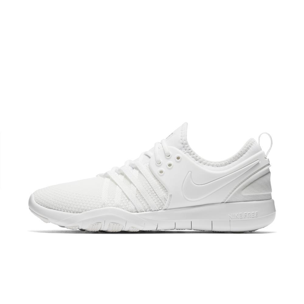 innovative design bded2 63b34 Nike Free Tr7 Women s Training Shoe in White - Lyst