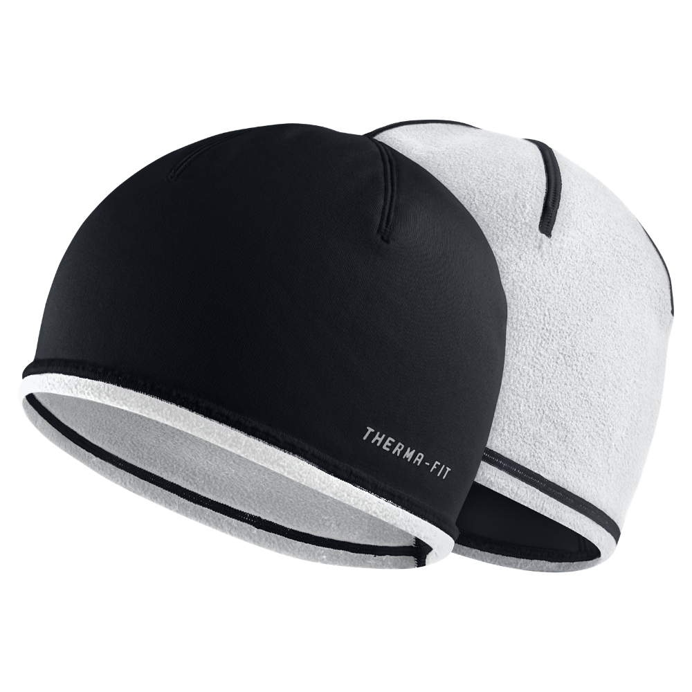 Lyst - Nike Therma-fit Reversible Running Knit Hat (black) in Black ... 5d4f7e78f40
