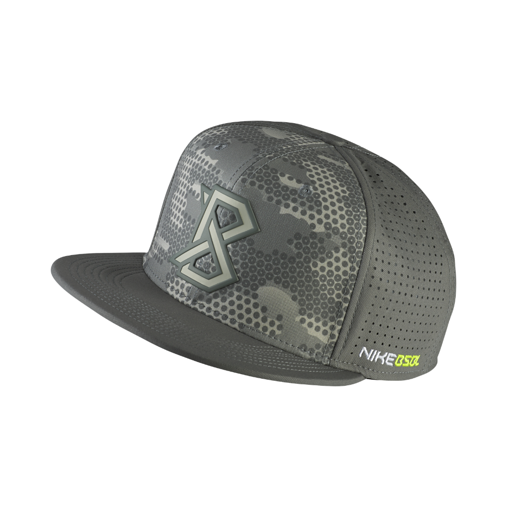 358fb708673d Nike True Vapor Bsbl Fitted Hat in Gray for Men - Lyst