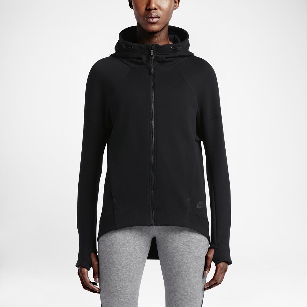 Nike Sportswear Tech Fleece Women S Hoodie In Black Lyst