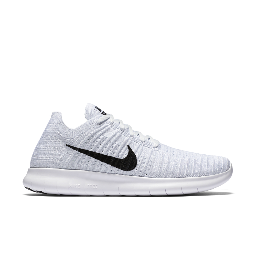 brand new 92d1f 720e1 Nike - White Free Rn Flyknit Men s Running Shoe for Men - Lyst