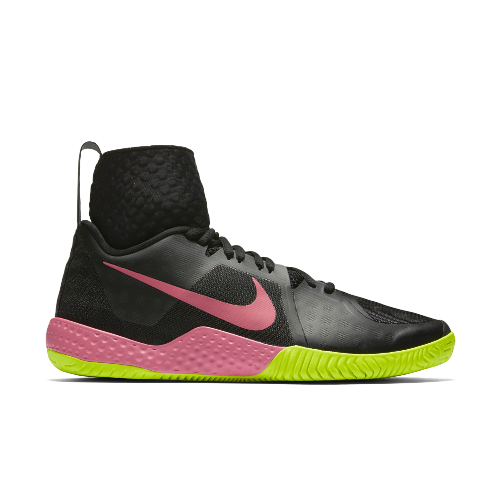 separation shoes 6d5fc df442 Lyst - Nike Court Flare Women s Tennis Shoe in Black