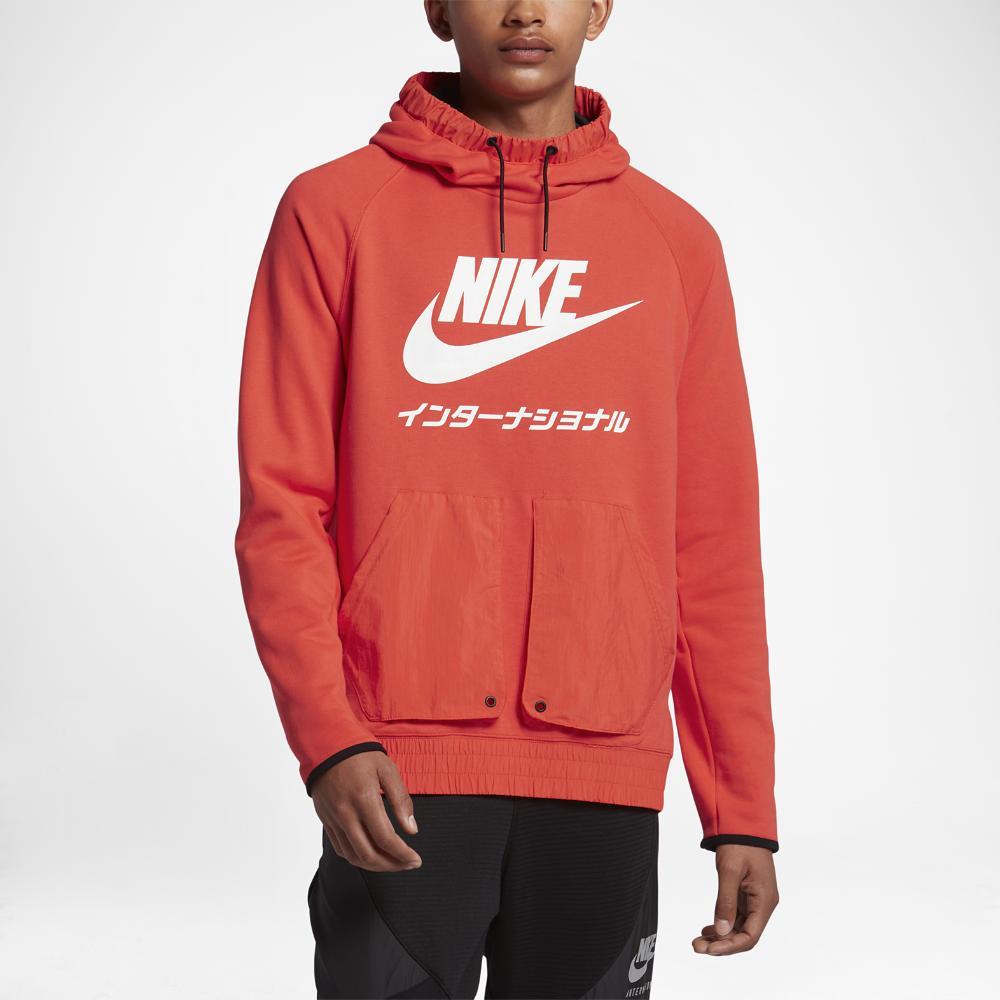 Nike International Men's Hoodie in Red for Men