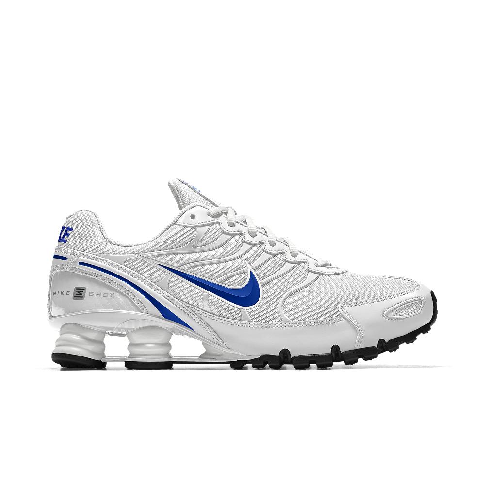 hot sale online 61043 03797 Nike Shox Turbo Vi Id Women s Shoe in White - Lyst