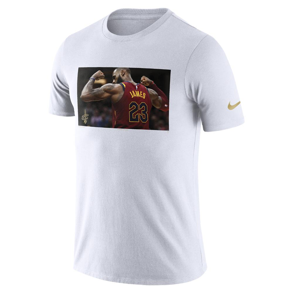 84a4be1e Nike Lebron James Cleveland Cavaliers Dri-fit Men's Nba T-shirt in ...