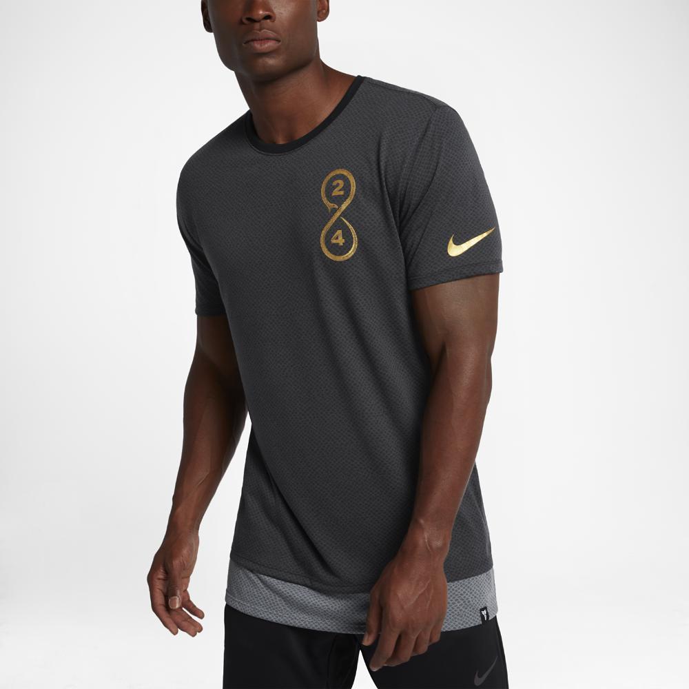 Nike Dry Kobe Men's T-Shirts Black