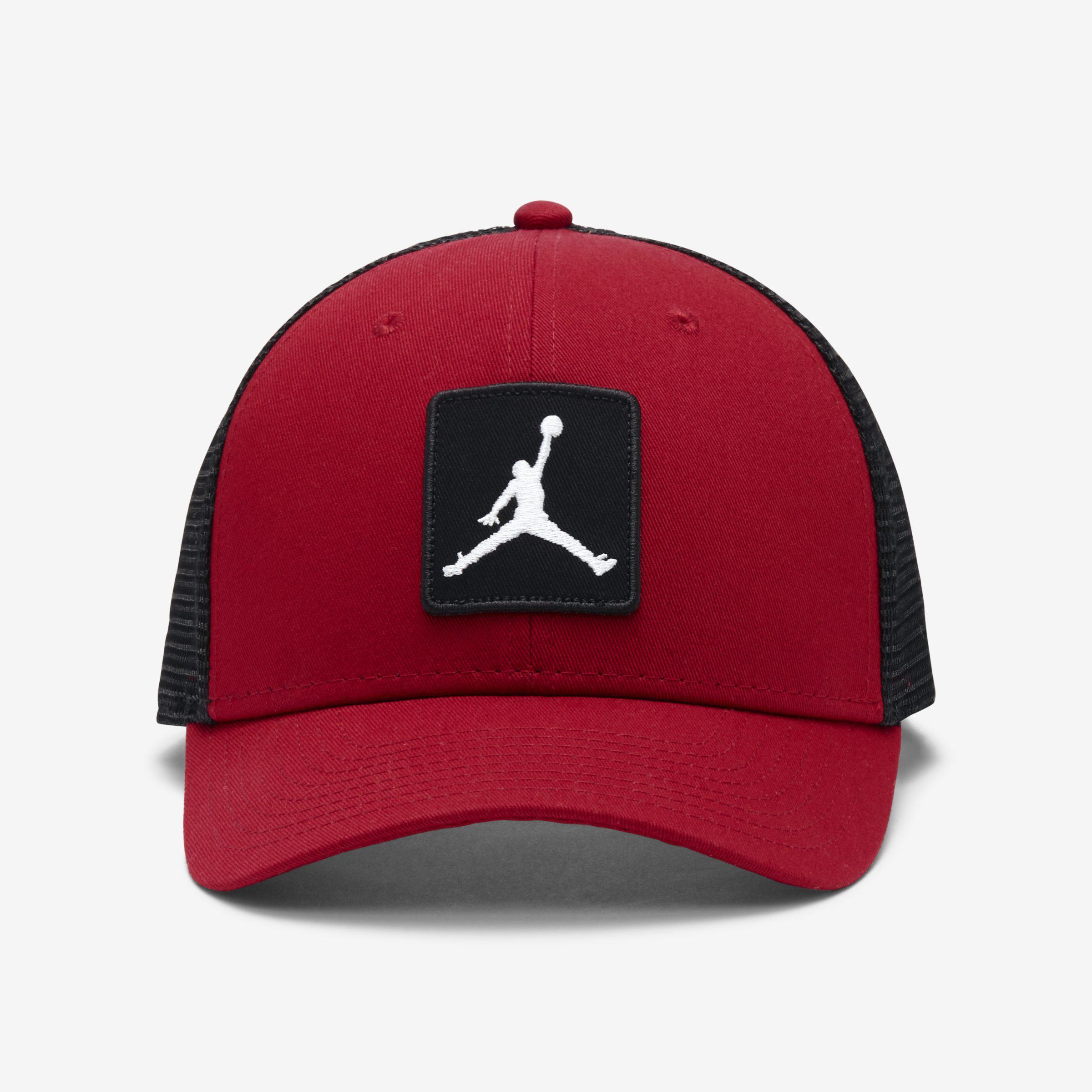the best attitude c3817 eee38 Nike Jordan Jumpman Classic99 Trucker Adjustable Hat in Red for Men ...